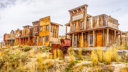 Foto de Old Western Ghost Town - Imagen libre de derechos