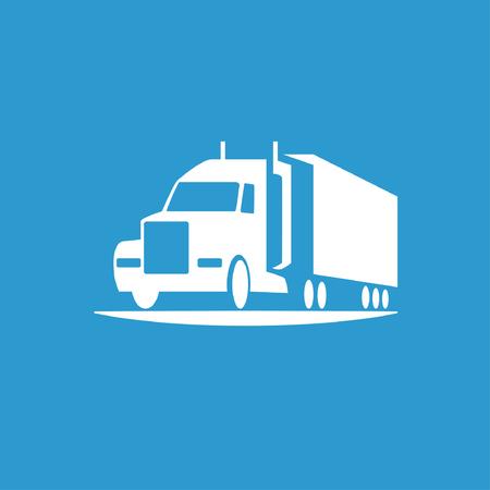 Illustrazione per Pictograph of truck - Immagini Royalty Free