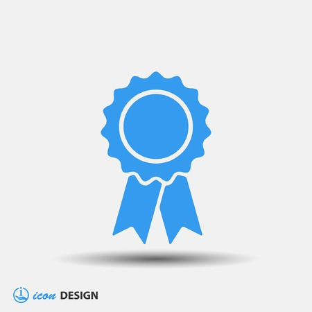 Illustration for Pictograph of award - Royalty Free Image