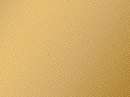 Ilustración de Traditional chinese background, gold auspicious pattern design - Imagen libre de derechos