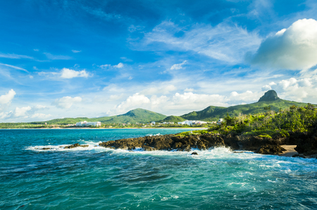 Photo for Beautiful natural landscape coast rocks and sky in kenting - Royalty Free Image