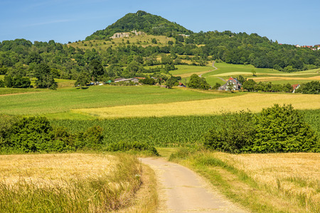 Photo for View emperor hill Hohenstaufen in Germany - Royalty Free Image