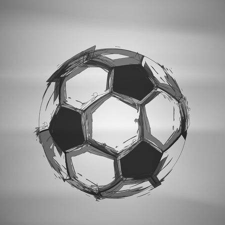 Ilustración de Sketch Soccer Vector - Imagen libre de derechos