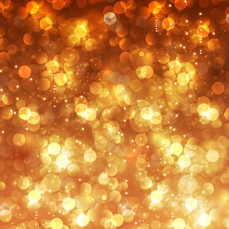 Illustration pour Festive Christmas bokeh background easy editable - image libre de droit