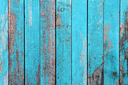 Foto de Vintage wood background with peeling paint. - Imagen libre de derechos