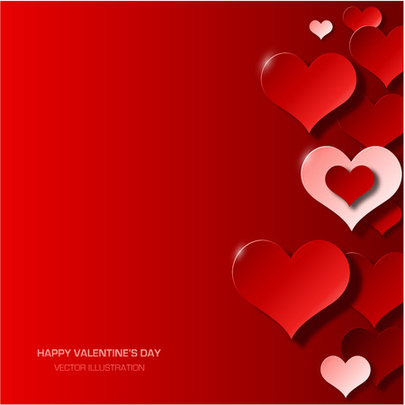 Illustration pour Modern valentine\'s day background - image libre de droit