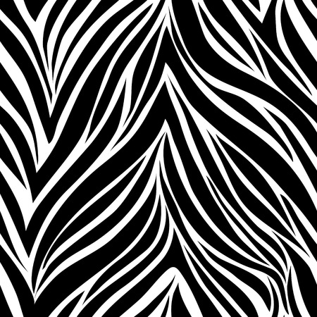 Illustration pour Seamless texture of zebra skin - image libre de droit