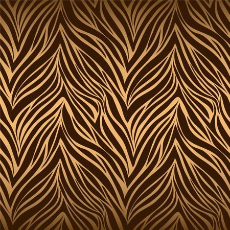 Illustration pour Seamless texture of tiger skin - image libre de droit