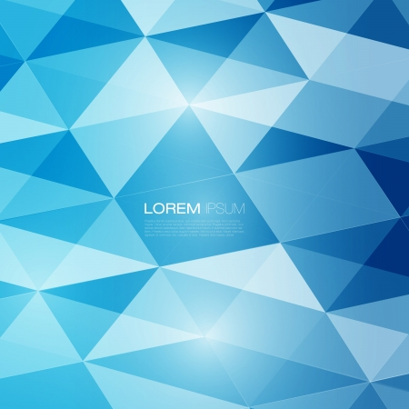 Illustration pour Abstract mesh background with lines and shapes   Futuristic Design - image libre de droit