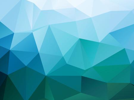 Illustration pour Abstract Polygons Shape Background - image libre de droit