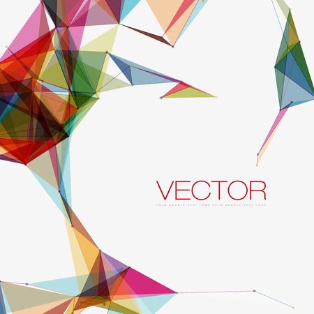 Photo pour Abstract Shapes Background | EPS10 Futuristic Design - image libre de droit