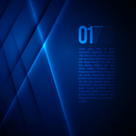 Foto de Abstract Blue Business Design  EPS10 Vector Background - Imagen libre de derechos