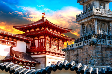 Photo for ancient Chinese architecture - Royalty Free Image