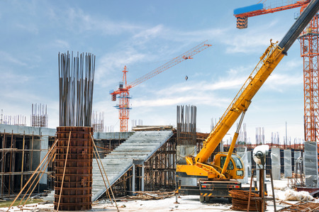 Foto per construction site - Immagine Royalty Free