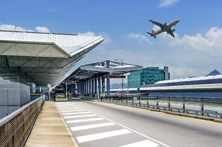 Photo for the scene of airport building - Royalty Free Image