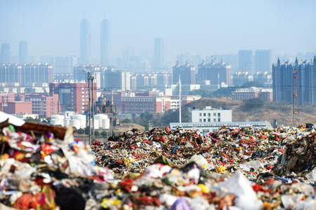 Photo for Rubbish dump - Royalty Free Image
