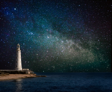 Foto de lighthouse at night  - Imagen libre de derechos