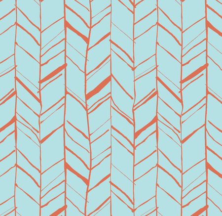 Hand drawn creative herringbone pattern perfectly seamless composition for print or web pro mural