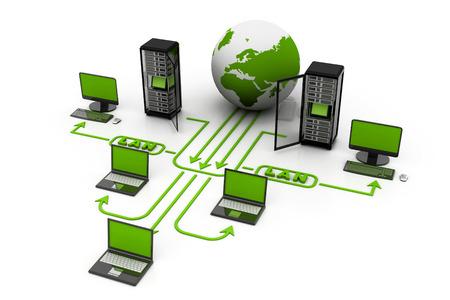 Foto de Computer network - Imagen libre de derechos