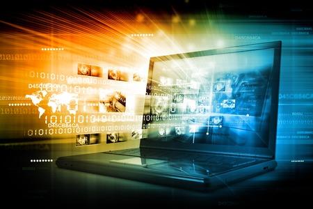 Photo pour Digital Internet technology - image libre de droit