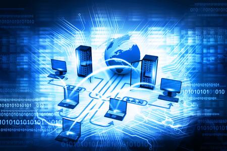 Foto für Computer network - Lizenzfreies Bild