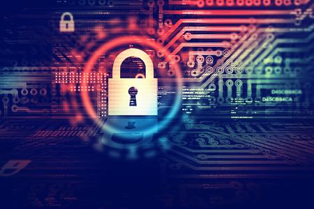 Foto de Digital security concept - Imagen libre de derechos