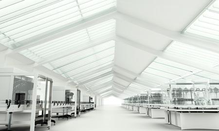 Foto de Modern clean Research Laboratory - Imagen libre de derechos