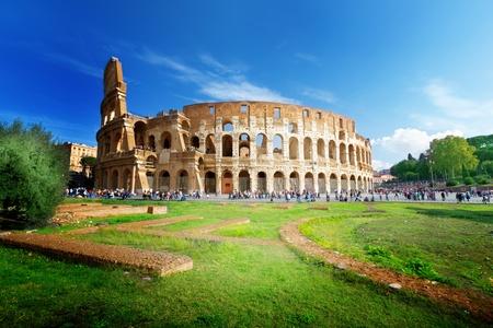 Foto de Colosseum in Rome, Italy - Imagen libre de derechos