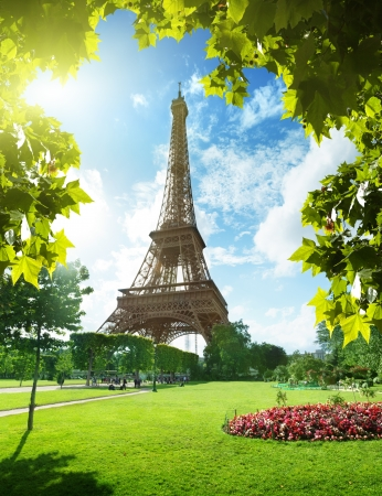 Photo for Eiffel tower in Paris, France - Royalty Free Image