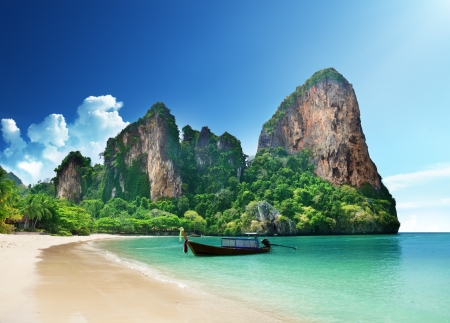 Photo for Railay beach in Krabi Thailand - Royalty Free Image