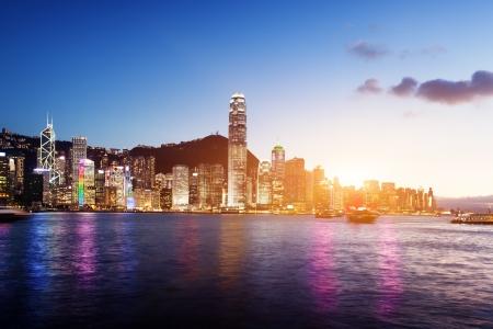 Foto de Skyline of Hong Kong - Imagen libre de derechos