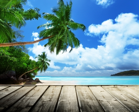 Photo for beach of Seychelles  - Royalty Free Image