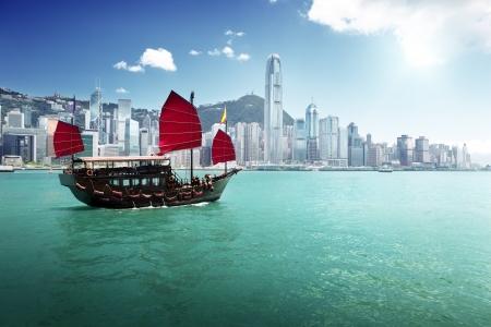 Foto für Hong Kong harbour - Lizenzfreies Bild