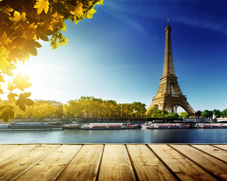 Photo for autumn in Paris - Royalty Free Image
