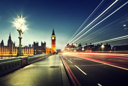 Photo pour Big Ben from Westminster Bridge, London - image libre de droit