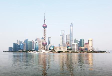 Photo pour Shanghai skyline, China - image libre de droit