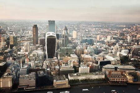 Foto de City of London At Sunset - Imagen libre de derechos