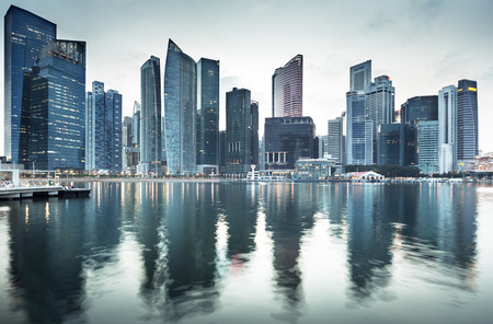 Photo pour Cityscape Singapore - image libre de droit