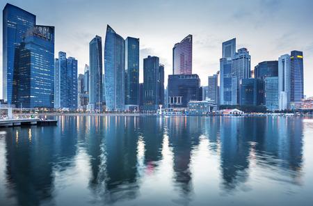 Photo pour Cityscape Singapore - image libre de droit
