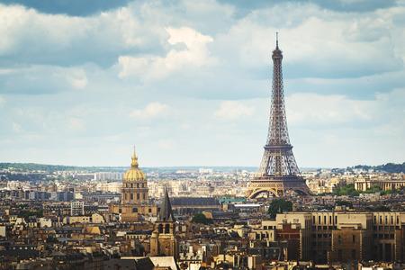 Foto de View on Eiffel Tower, Paris, France - Imagen libre de derechos