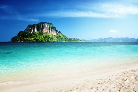 Photo pour Poda island, Krabi province, Thailand - image libre de droit