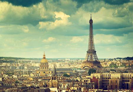 Foto de Eiffel tower, Paris. France - Imagen libre de derechos