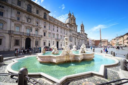 Foto de Piazza Navona, Rome. Italy - Imagen libre de derechos