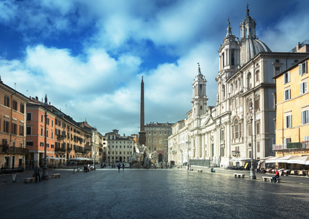 Photo for Piazza Navona, Rome. Italy - Royalty Free Image