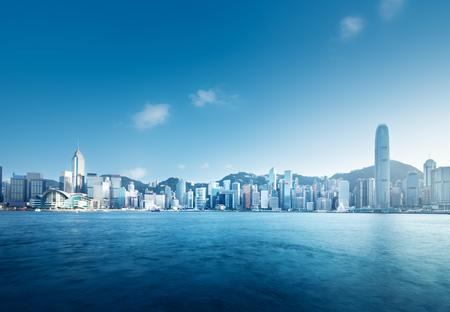 Photo pour Hong Kong harbour - image libre de droit