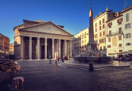 Photo for Pantheon in Rome, Italy - Royalty Free Image