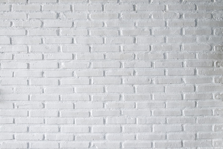 Photo pour White brick wall texture background - image libre de droit