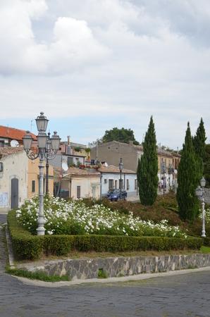 Photo pour Panoramic view of Melfi. Basilicata. italy - image libre de droit