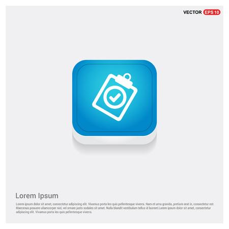 Illustration pour Check List Icon - image libre de droit