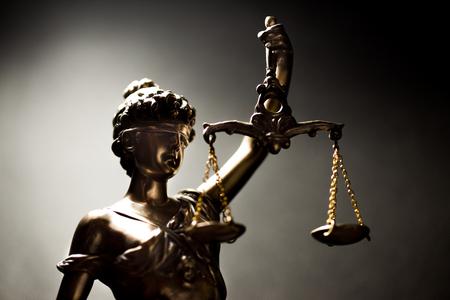 Photo pour Lady of Justice or Themis (Symbol of justice) - image libre de droit